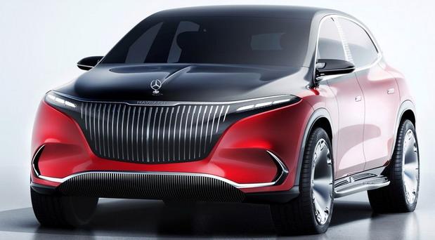 Mercedes-Maybach EQS SUV Concept