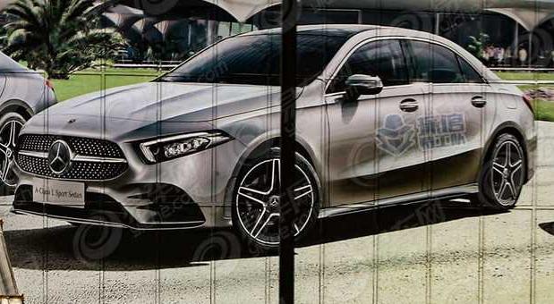 Mercedes A klase sedan