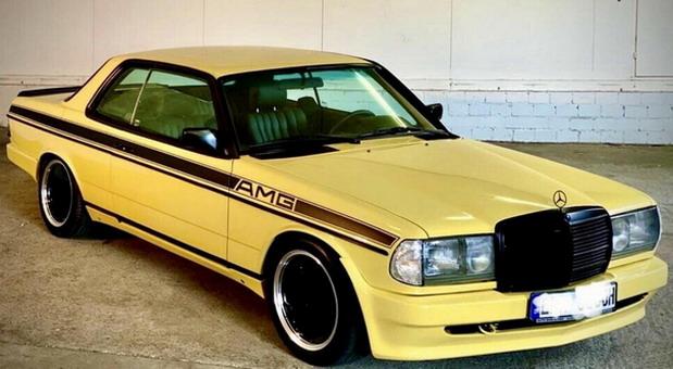 Mercedes W123 280 CE