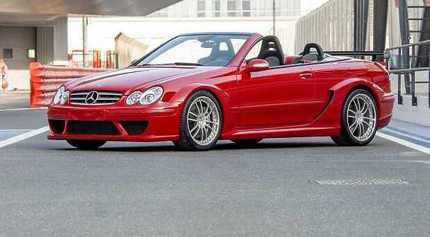 Mercedes CLK DTM AMG kabriolet
