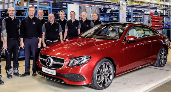 Mercedes fabrika