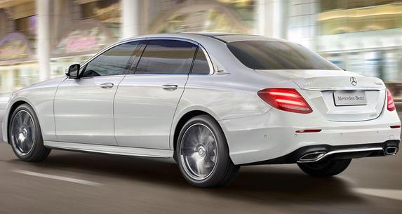 Mercedes E LWB