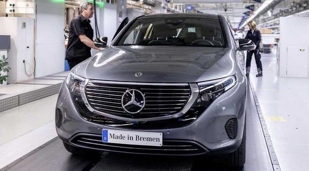Mercedes EQC fabrika