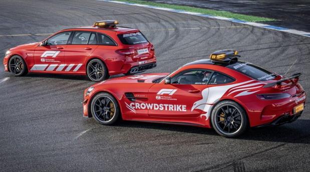 Mercedes-AMG C63S Estate F1 Medical Car