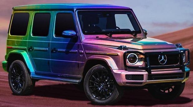 Mercedes G Pride u duginim bojama