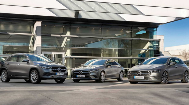 Mercedes GLA 250e, CLA 250e i CLA 250e Shooting Brake
