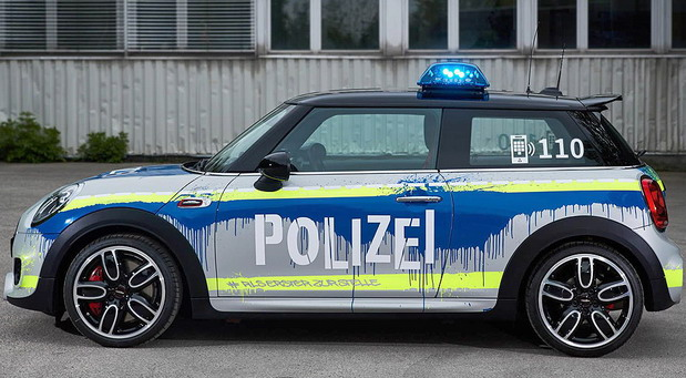 MINI JCW Police