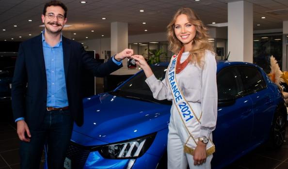 Miss Francuske dobila novi Peugeot e-208