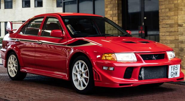 Mitsubishi Evo VI Tommi Makinen Edition
