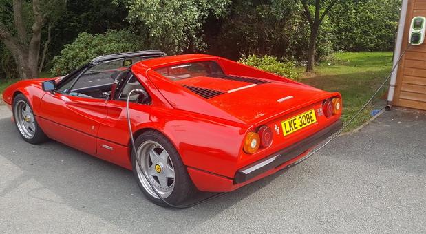 Električni Ferrari