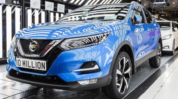 Nissan Qashqai 10 million
