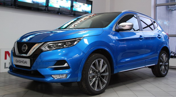 Nissan Qashqai Tekna Full Body Color