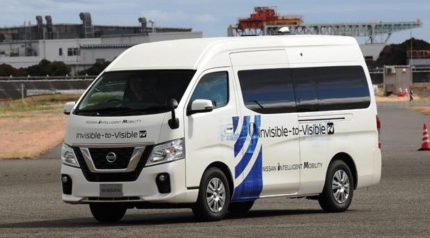 """Nissan i DOCOMO """"nevidljivo u vidljivo"""""""