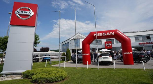 Prodajno-servisni centar Nissana u Kragujevcu