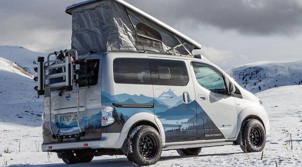 Nissan e-NV200 Winter Camper
