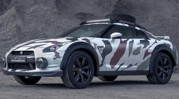 Nissan GT-R Offroad Godzilla 2.0
