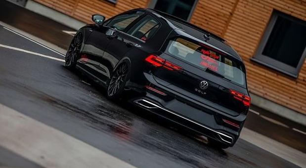 Null Bar Volkswagen Golf 8