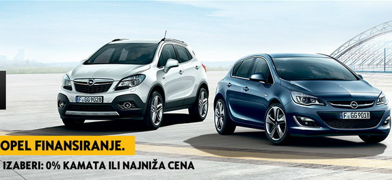 AutoBlog  Opel sajamska ponuda: 0% kamata ili najniža rata