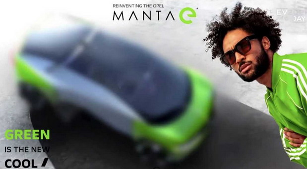 Opel Manta E