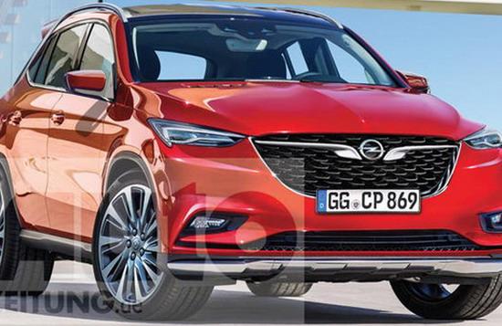 Opel Omega X