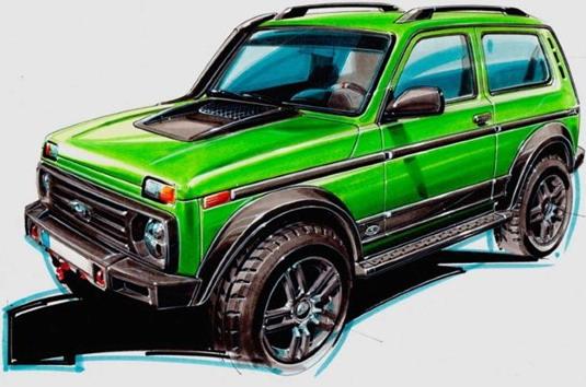Partisan Motors Lada Niva