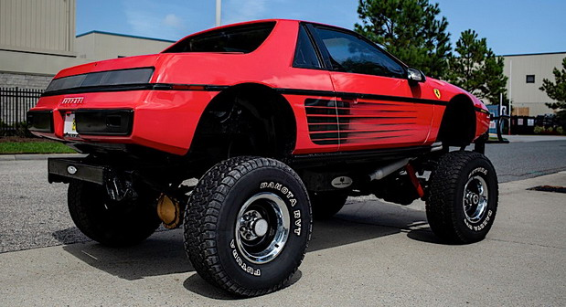 Pontiac Fiero Custom coupe