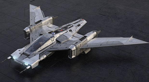 S-91x Pegasus Starfighter