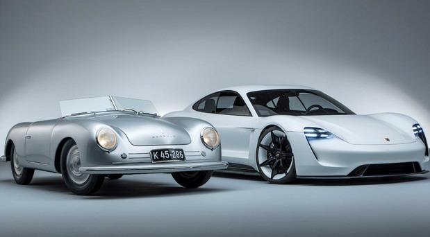 Porsche 356 i Taycan