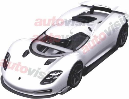 Porsche hypercar
