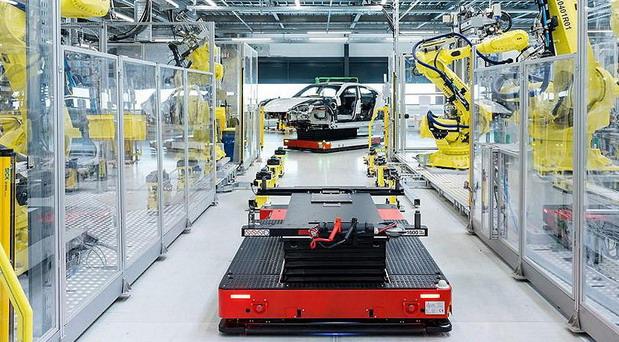 Porsche fabrika