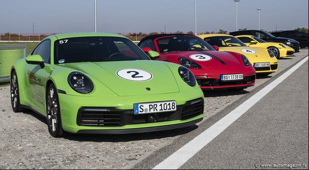 Porsche Road Tour Serbia 2019