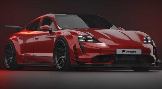 Porsche Taycan Turbo S by Prior Design