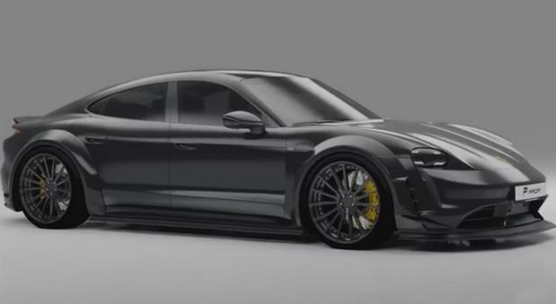Prior Design Widebody-Kit za Porsche Taycan