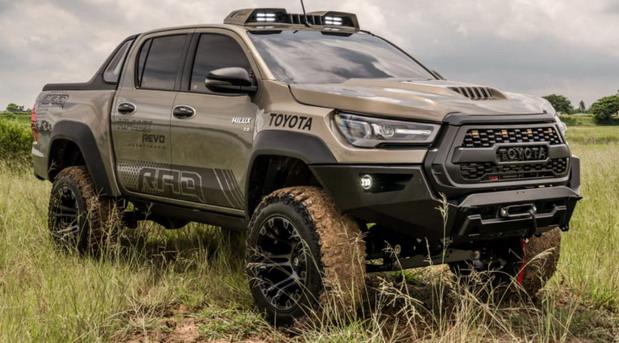 Toyota Hilux Revo Pathfinder by RAD