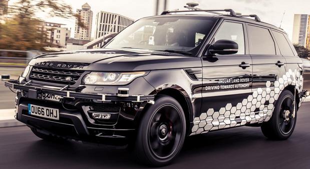 Range Rover Sport autonomni