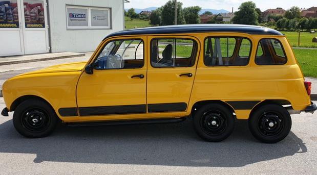 Renault 4 sa tri osovine