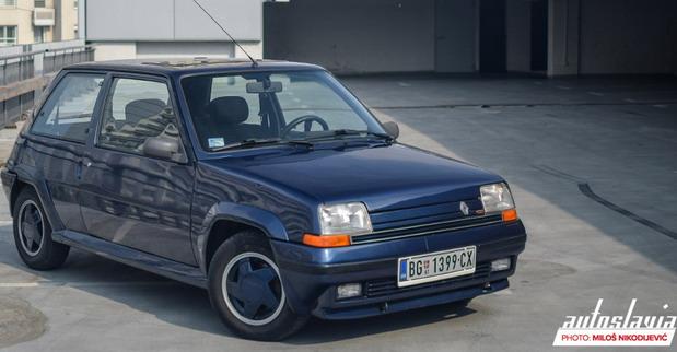 Renault 5 GTE Blue Sport