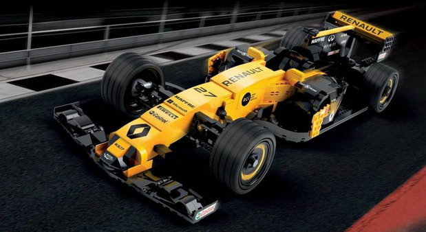 Renault RS17 F1 lego