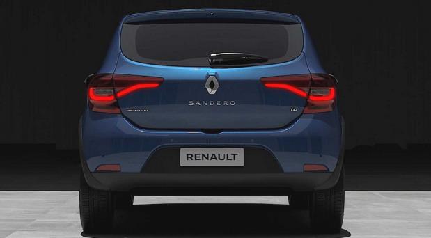 Renault Sandero facelift