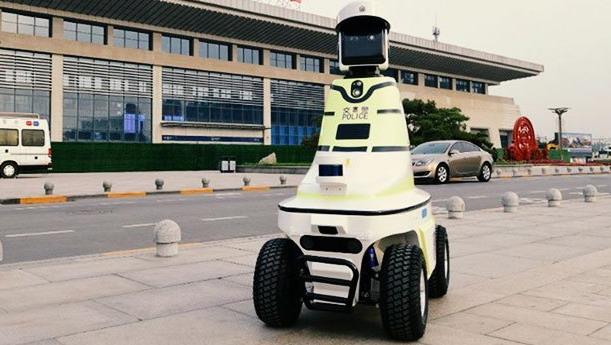 Kineski robot saobraćajac