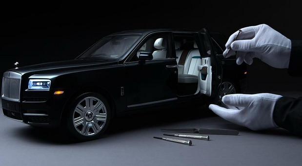 Rolls-Royce Cullinan u razmeri 1:8