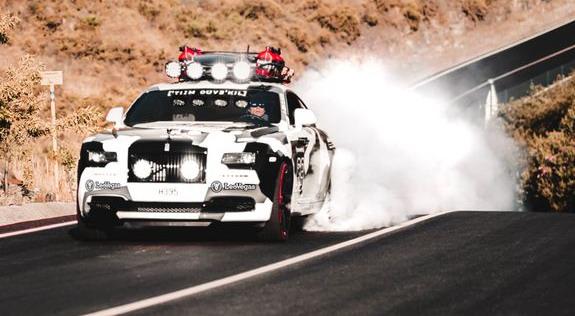 Jon Olsson Rolls-Royce Wraith