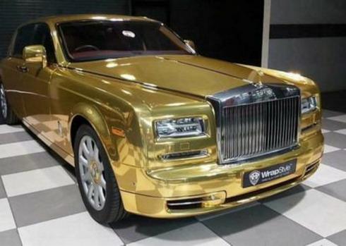 Rolls-Royce taxi
