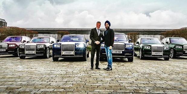Reuben Singh i šest Rolls-Roycea