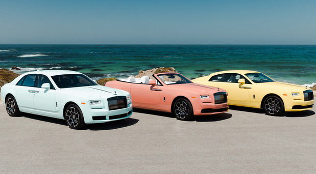 Rolls-Royce Pebble Beach Pastel Collection