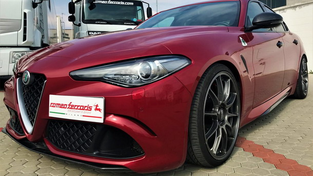 Alfa Romeo Giulia Quadrifoglio by Romeo Ferraris