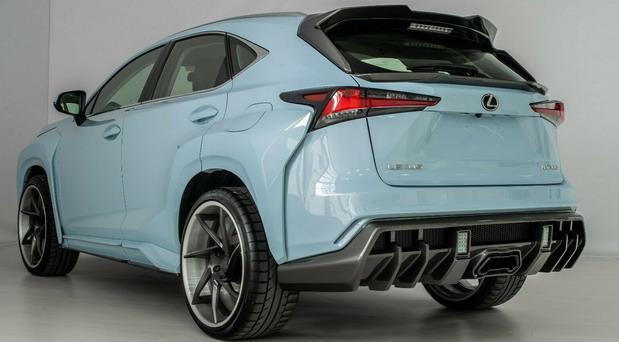 SCL Lexus NX