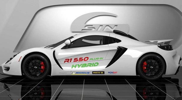 Sin Cars R1 550 Plug-In Hybrid