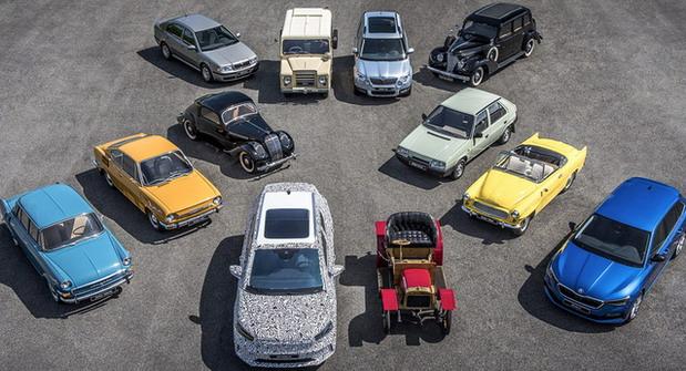 125 godina Škoda Auto