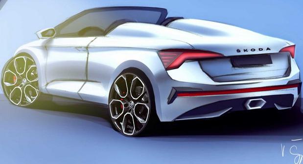Škoda Scala Spider Concept